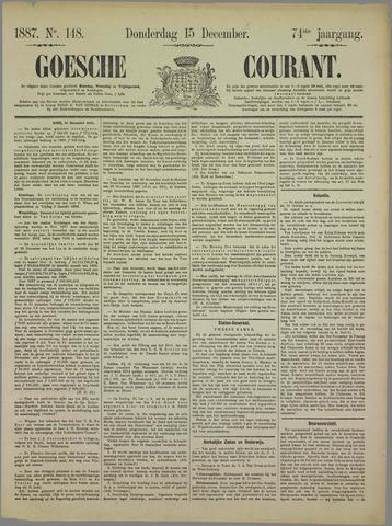 Goessche Courant 1887-12-15