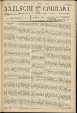 Axelsche Courant 1933-02-21