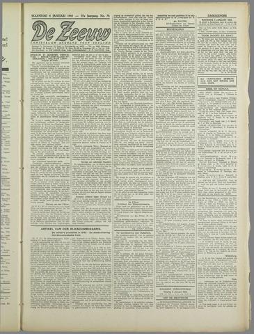 De Zeeuw. Christelijk-historisch nieuwsblad voor Zeeland 1943