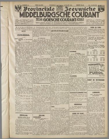Middelburgsche Courant 1933-03-22