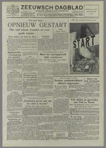 Zeeuwsch Dagblad 1956