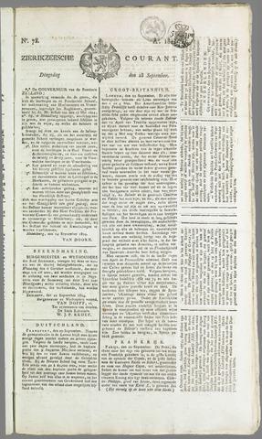 Zierikzeesche Courant 1824-09-28