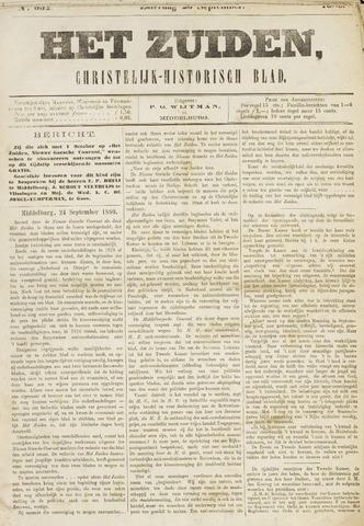 Het Zuiden, Christelijk-historisch blad 1880-09-25