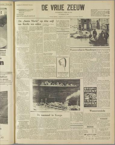 de Vrije Zeeuw 1961-02-02