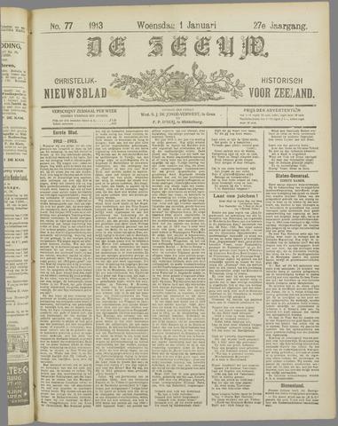 De Zeeuw. Christelijk-historisch nieuwsblad voor Zeeland 1913