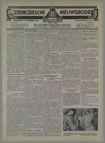 Zierikzeesche Nieuwsbode 1942-10-21