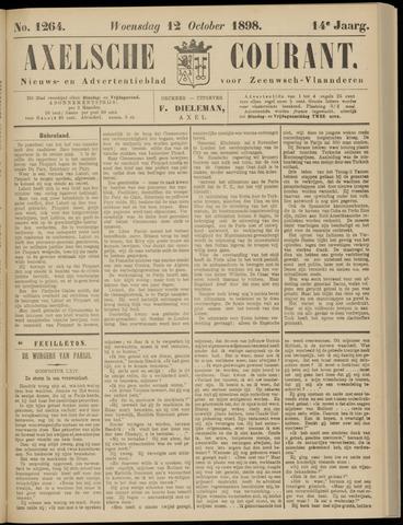 Axelsche Courant 1898-10-12