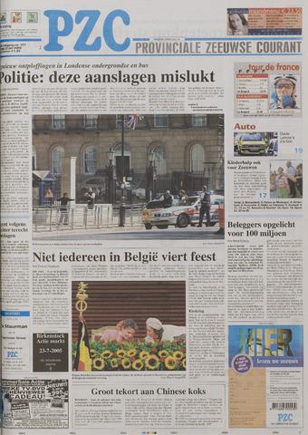 Provinciale Zeeuwse Courant 2005-07-22