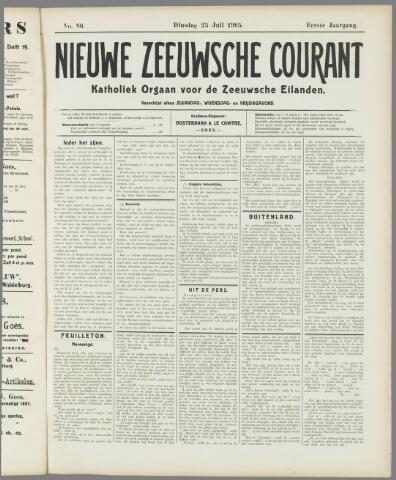 Nieuwe Zeeuwsche Courant 1905-07-25
