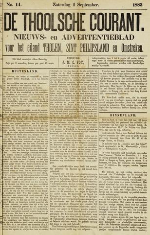 Ierseksche en Thoolsche Courant 1883-09-01