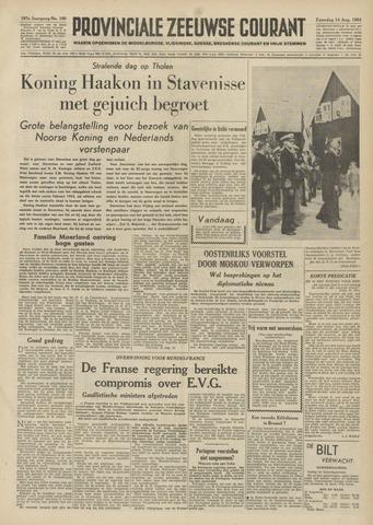 Provinciale Zeeuwse Courant 1954-08-14