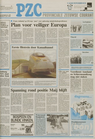 Provinciale Zeeuwse Courant 1993-06-21
