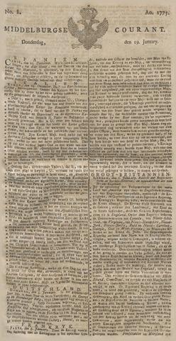Middelburgsche Courant 1775-01-19