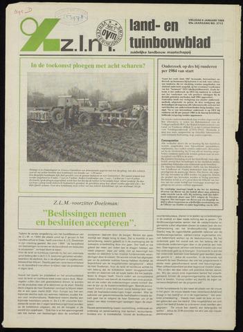 Zeeuwsch landbouwblad ... ZLM land- en tuinbouwblad 1984