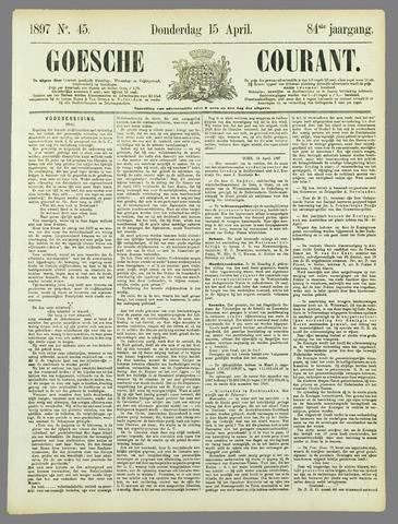 Goessche Courant 1897-04-15
