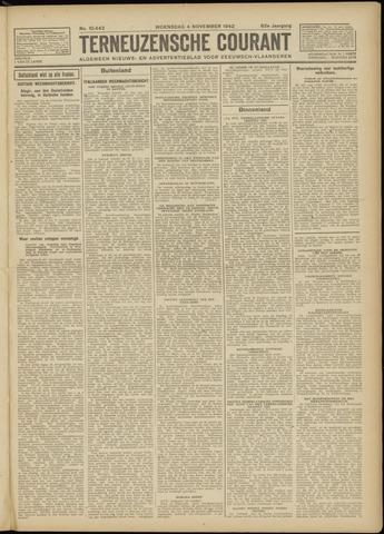 Ter Neuzensche Courant. Algemeen Nieuws- en Advertentieblad voor Zeeuwsch-Vlaanderen / Neuzensche Courant ... (idem) / (Algemeen) nieuws en advertentieblad voor Zeeuwsch-Vlaanderen 1942-11-04