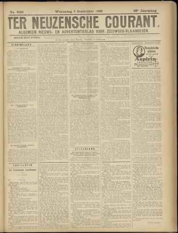 Ter Neuzensche Courant. Algemeen Nieuws- en Advertentieblad voor Zeeuwsch-Vlaanderen / Neuzensche Courant ... (idem) / (Algemeen) nieuws en advertentieblad voor Zeeuwsch-Vlaanderen 1928-09-05