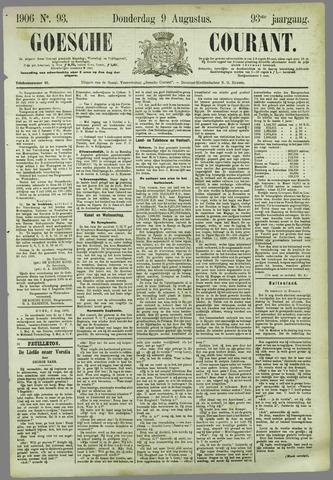 Goessche Courant 1906-08-09