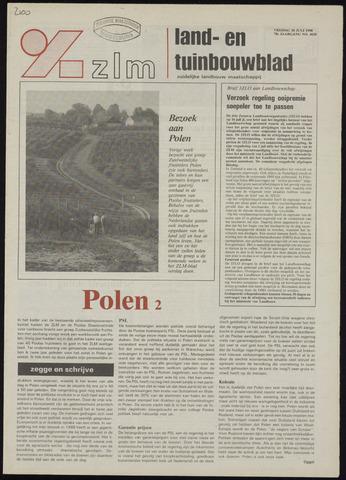 Zeeuwsch landbouwblad ... ZLM land- en tuinbouwblad 1990-07-20