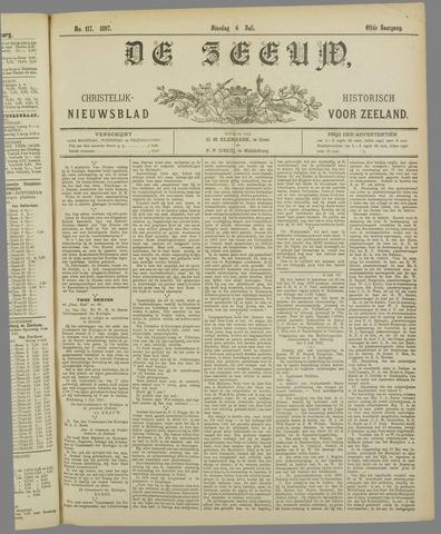De Zeeuw. Christelijk-historisch nieuwsblad voor Zeeland 1897-07-06