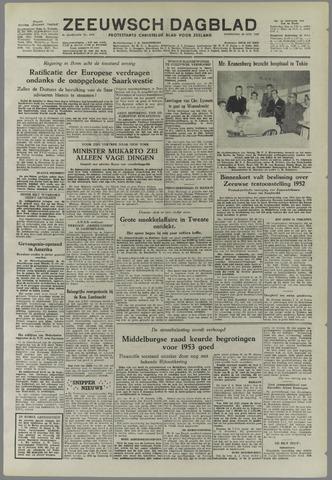 Zeeuwsch Dagblad 1952-10-29