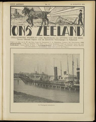 Ons Zeeland / Zeeuwsche editie 1929-08-24