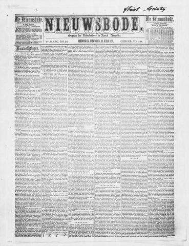 Sheboygan Nieuwsbode 1858-07-13