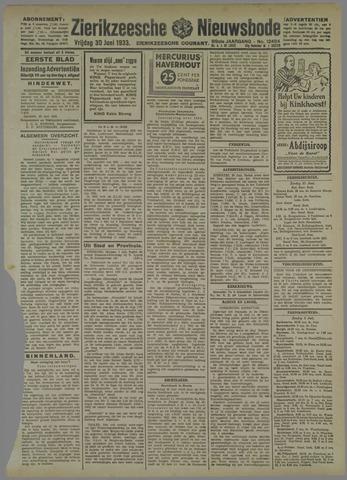 Zierikzeesche Nieuwsbode 1933-06-30