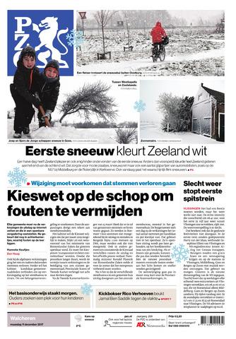 Provinciale Zeeuwse Courant 2017-12-11