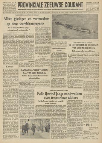 Provinciale Zeeuwse Courant 1954-01-28
