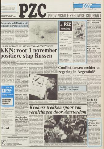 Provinciale Zeeuwse Courant 1985-10-28