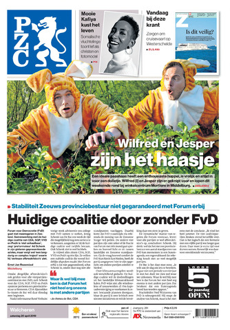 Provinciale Zeeuwse Courant 2019-04-20