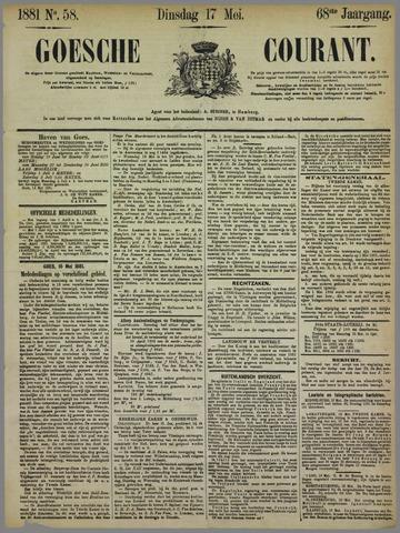 Goessche Courant 1881-05-17