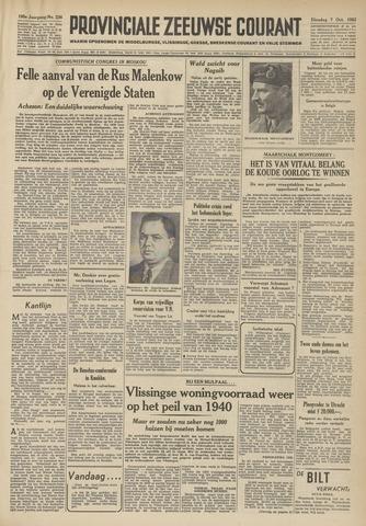 Provinciale Zeeuwse Courant 1952-10-07