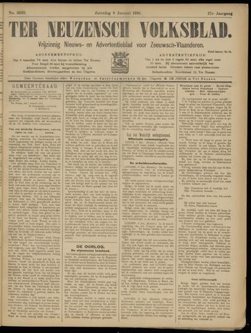 Ter Neuzensch Volksblad. Vrijzinnig nieuws- en advertentieblad voor Zeeuwsch- Vlaanderen / Zeeuwsch Nieuwsblad. Nieuws- en advertentieblad voor Zeeland 1916-01-08