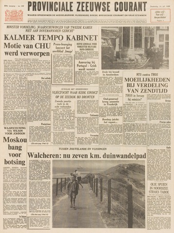 Provinciale Zeeuwse Courant 1966-07-14