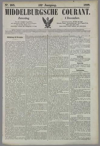 Middelburgsche Courant 1888-12-01