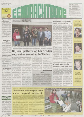 Eendrachtbode (1945-heden)/Mededeelingenblad voor het eiland Tholen (1944/45) 2012-03-15