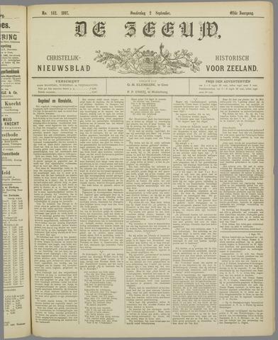De Zeeuw. Christelijk-historisch nieuwsblad voor Zeeland 1897-09-02