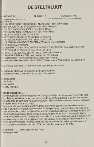 de Steltkluut 1992-10-01