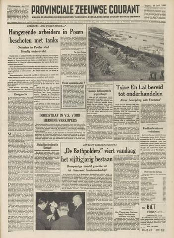 Provinciale Zeeuwse Courant 1956-06-29