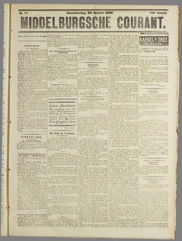 Middelburgsche Courant 1925-03-26