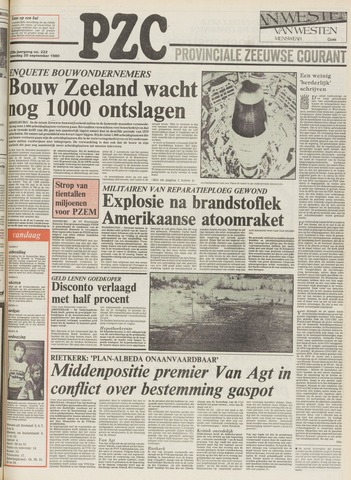 Provinciale Zeeuwse Courant 1980-09-20