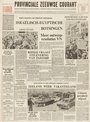 Provinciale Zeeuwse Courant 1967-07-03