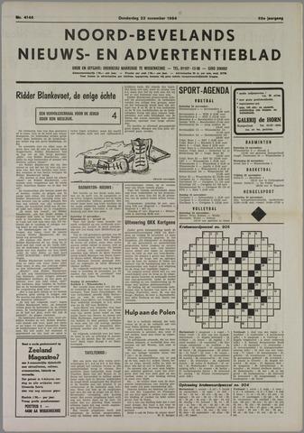 Noord-Bevelands Nieuws- en advertentieblad 1984-11-22