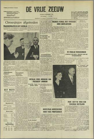 de Vrije Zeeuw 1964-10-16