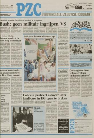 Provinciale Zeeuwse Courant 1992-06-12