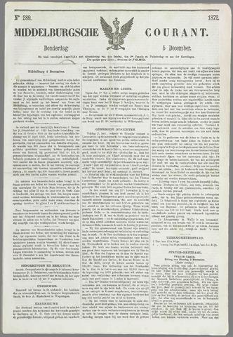 Middelburgsche Courant 1872-12-05
