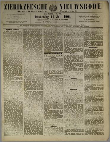 Zierikzeesche Nieuwsbode 1901-07-11