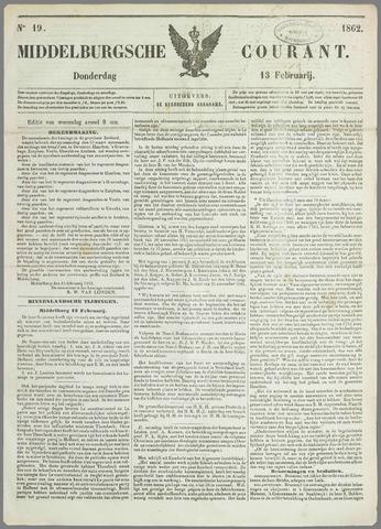 Middelburgsche Courant 1862-02-13